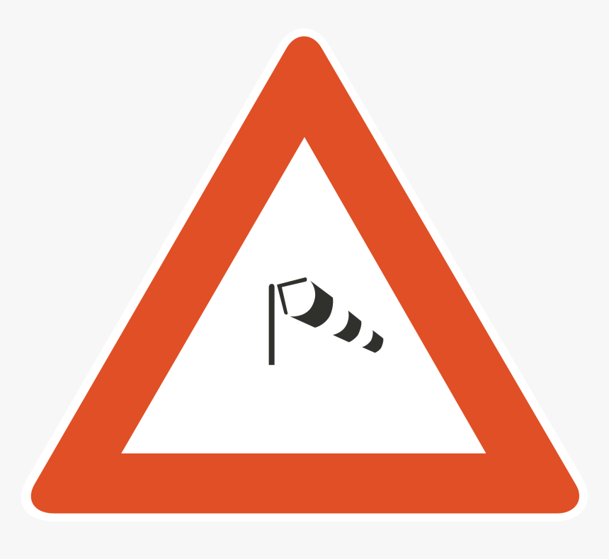 Blank Warning Road Signs Clipart , Png Download - Triangle Sign Png, Transparent Png, Free Download