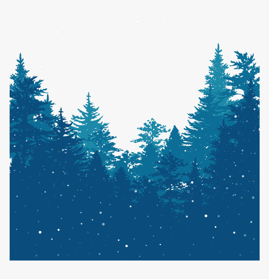 Transparent Winter Pine Trees Clipart - Kids Camp, HD Png Download, Free Download