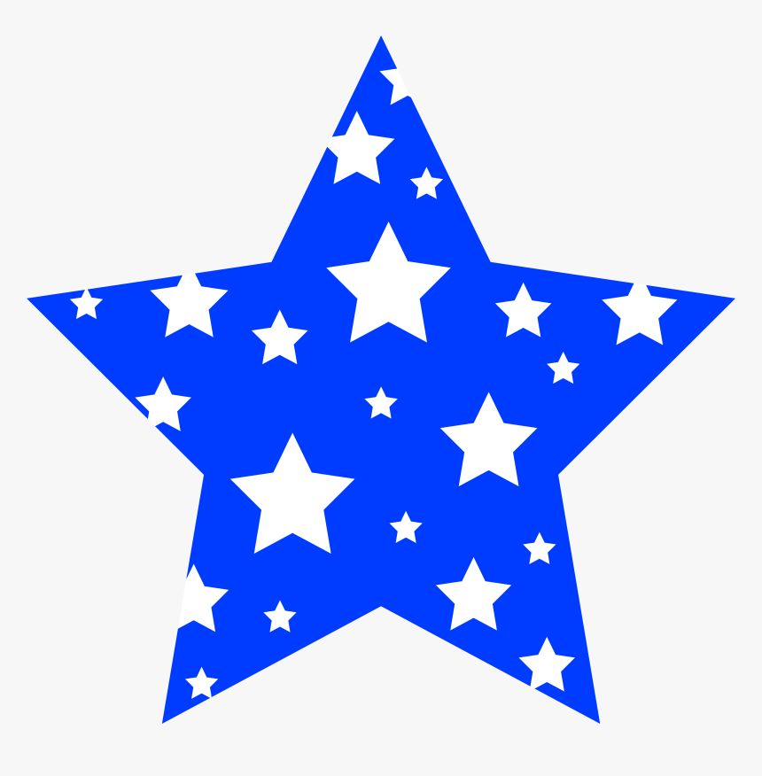 4th Of July Star Clip Art, HD Png Download, Free Download