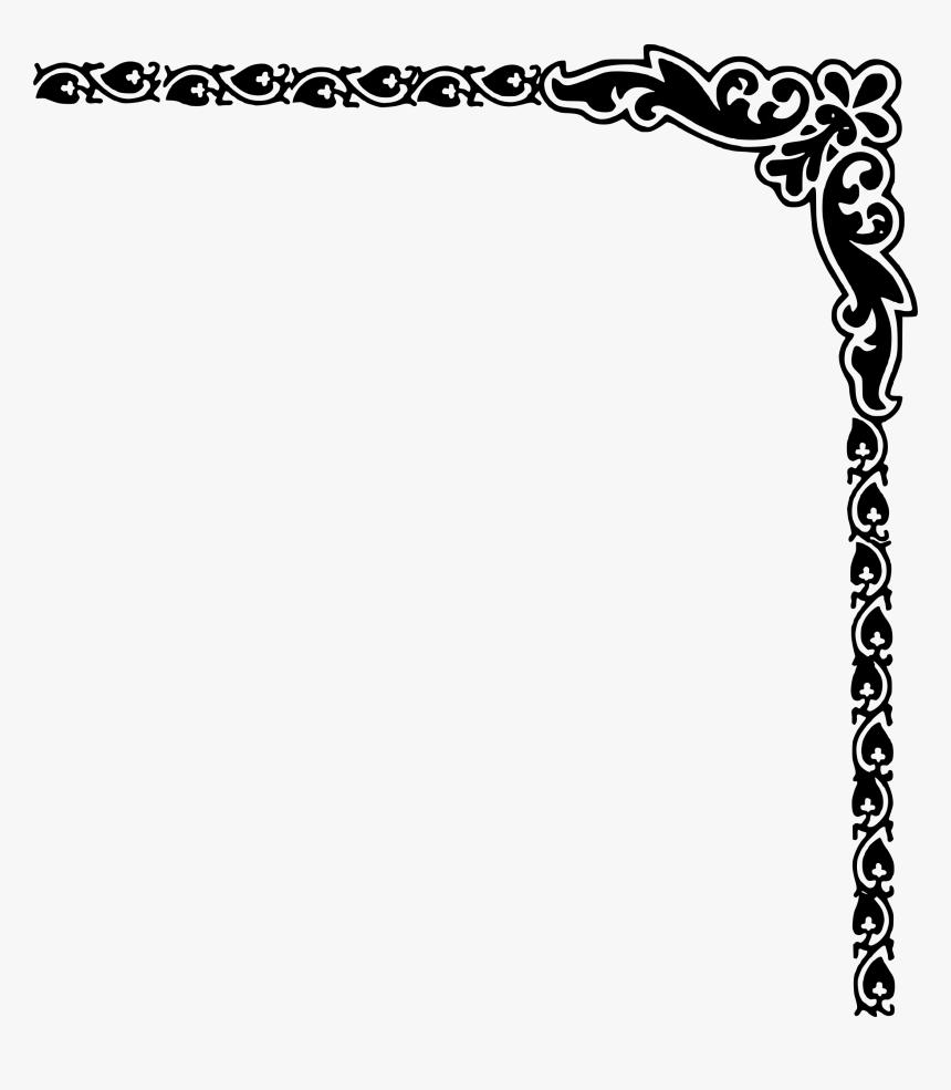 Borders And Frames Clip Art Transparent Border Design Png Png Download Kindpng