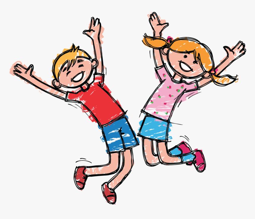 Boy Jumping Clip Art
