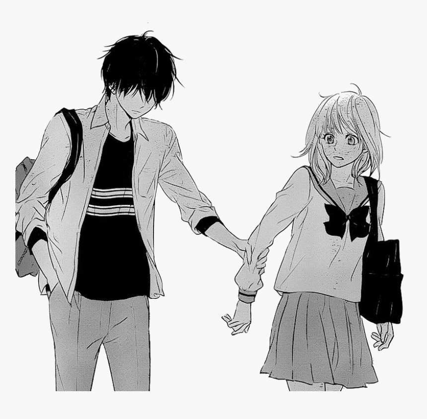 Sad Couple Png Pic - Sad Girl And Boy, Transparent Png, Free Download