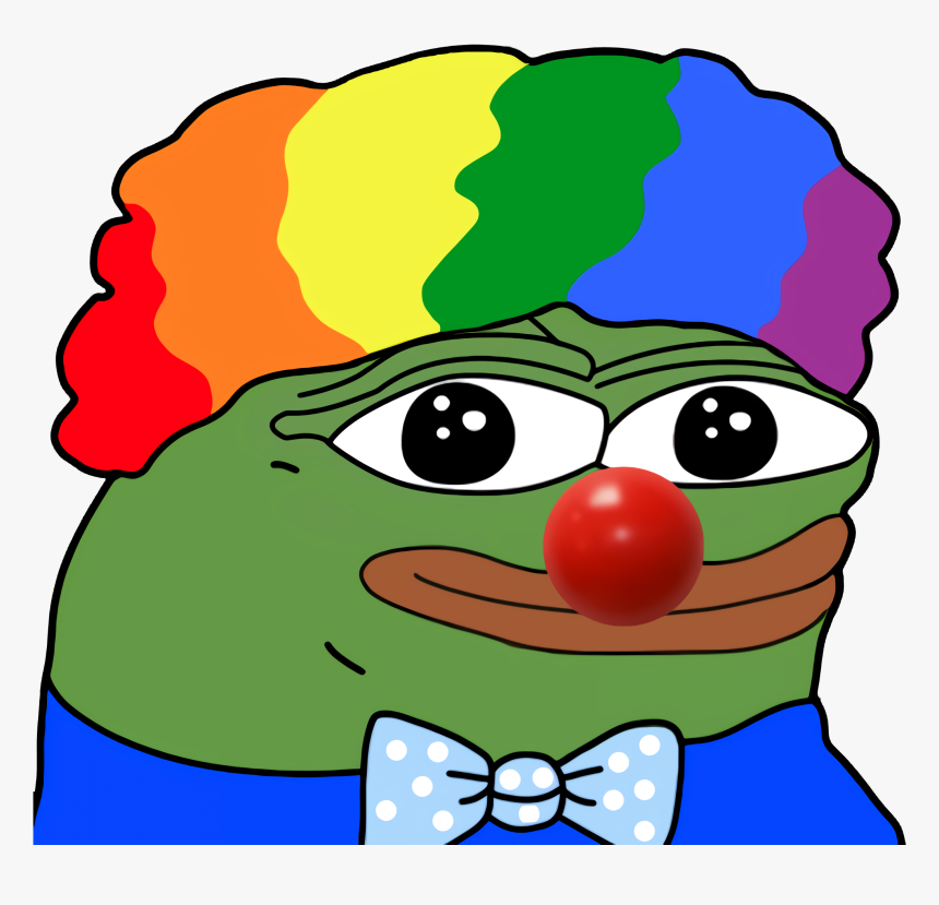 High Resolution Illustration - Pepe Clown, HD Png Download, Free Download
