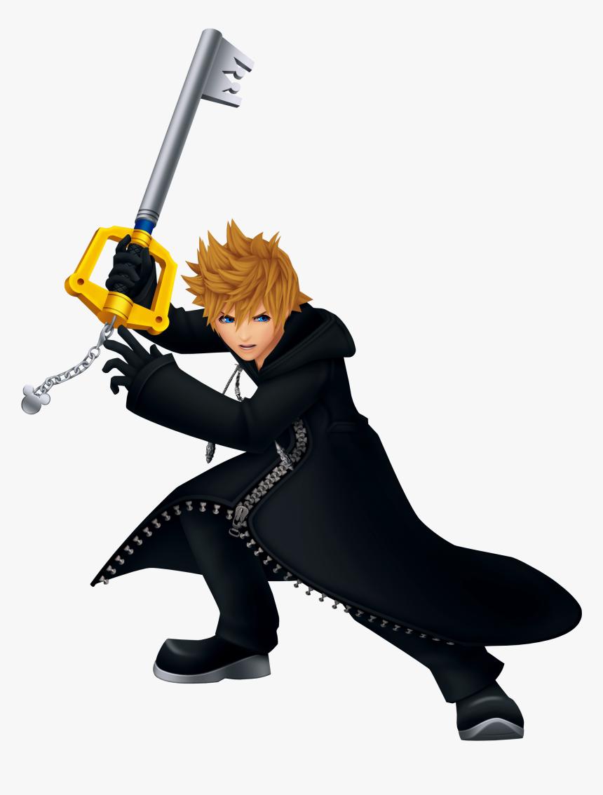 Roxas Sora And Ventus - Roxas Kingdom Hearts, HD Png Download, Free Download