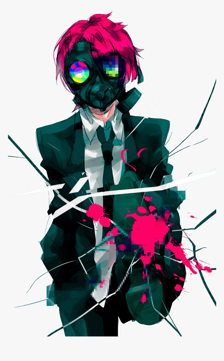 Anime Guy Wallpaper Wp4402210 - Anime Boys With Mask, HD Png Download, Free Download