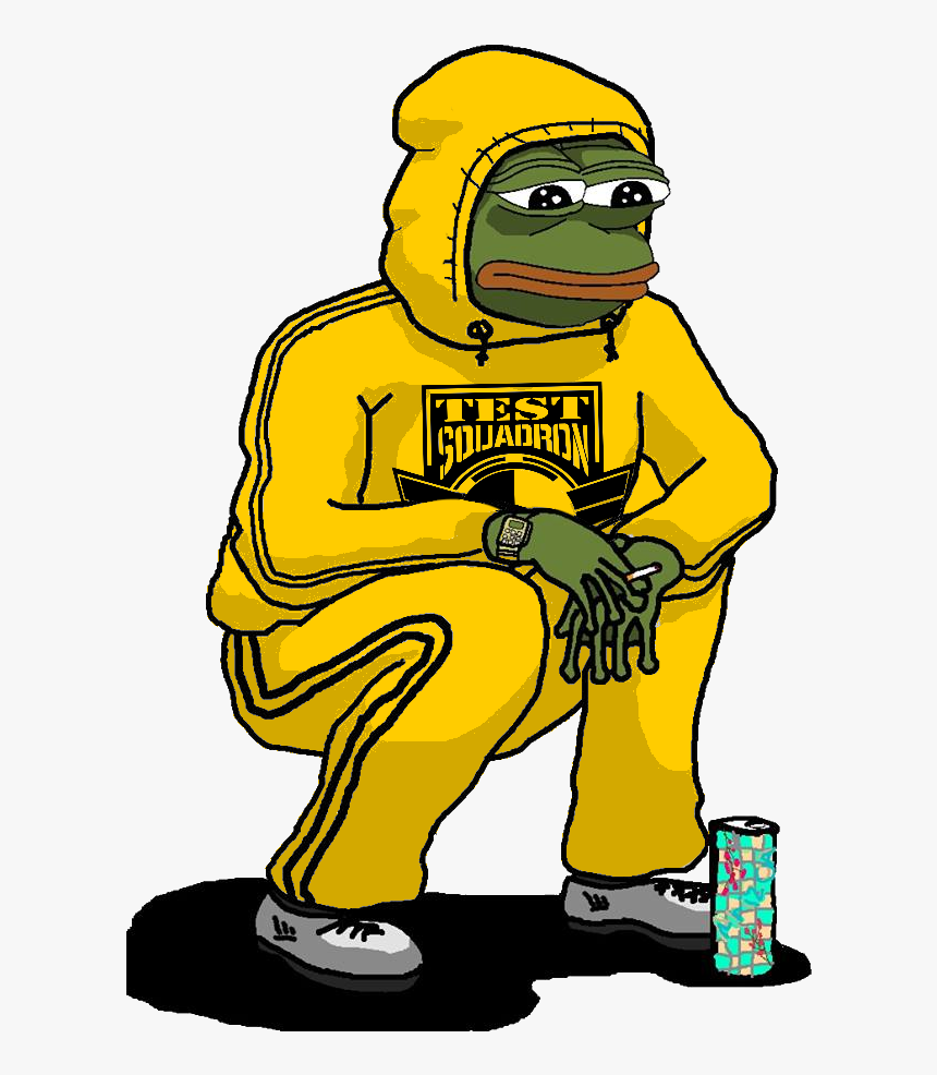 This Rare Test Pepe Is [concern]ed About Sots - Pepe Sad Boy, HD Png Download, Free Download
