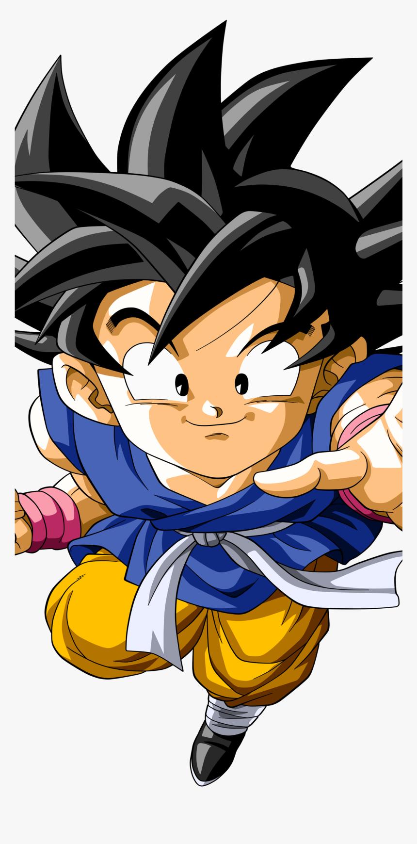 Kid Goku Anime / Dragon Ball Gt Mobile Wallpaper - Dragon Ball Gt Goku Fighter Z, HD Png Download, Free Download