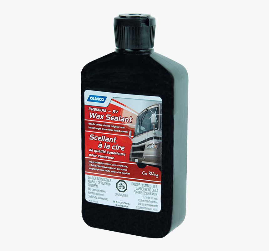 Camco Premium Wax Sealant - Bottle, HD Png Download, Free Download