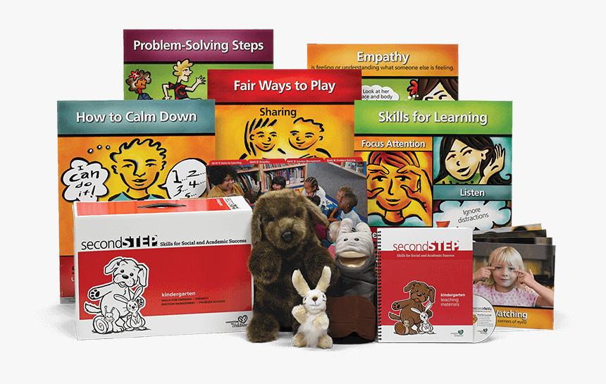 Second Step Kindergarten Kit - Second Step Grade 1, HD Png Download, Free Download