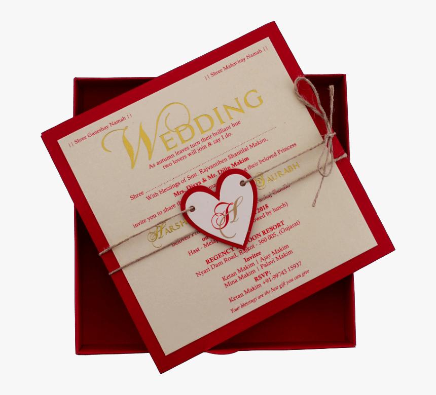 Transparent Invitation Card Png - Wedding Card Muslim, Png Download, Free Download