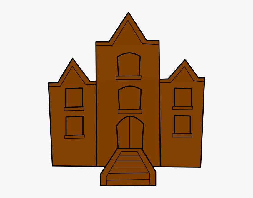 School Clip Art - School Building Clip Art, HD Png Download, Free Download