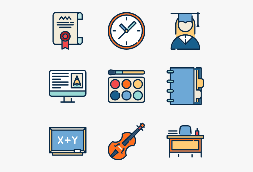 High School Collection - Automation Icons, HD Png Download, Free Download