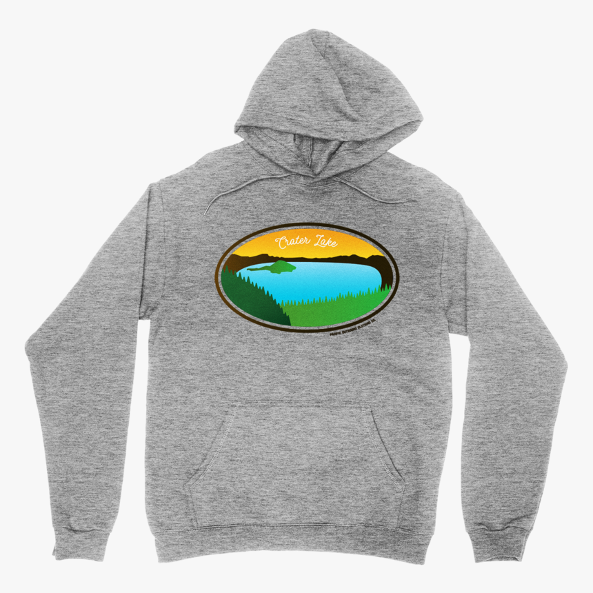Crater Lake Hoodie -apparel In The Great Pacific Northwest - Hoodie, HD Png Download, Free Download