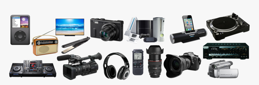 Electronics Items Img Png, Transparent Png, Free Download