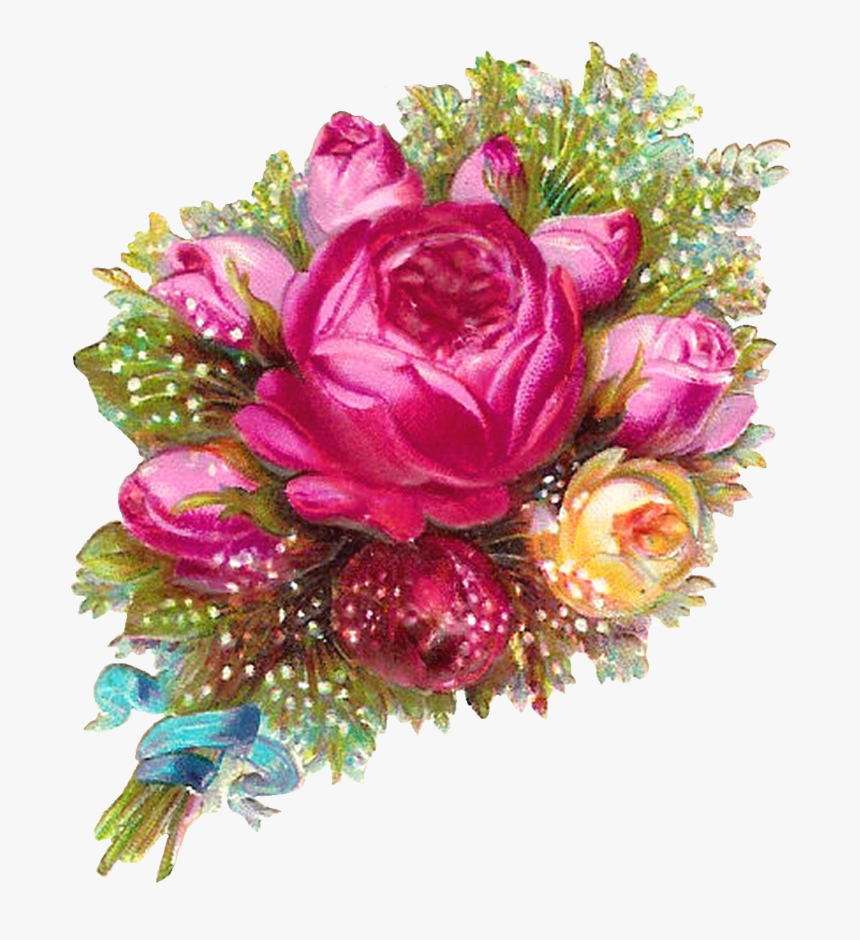 Clip Art Pink Roses Flowers Png Transparent Background Transparent Flower Bouquet Png Download Kindpng