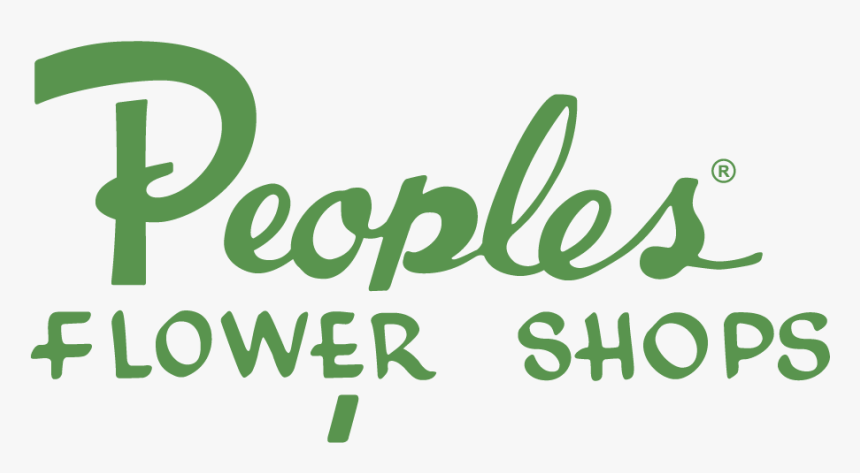 Logo For Peoples Flowers Albuquerque - Calligraphy, HD Png Download, Free Download
