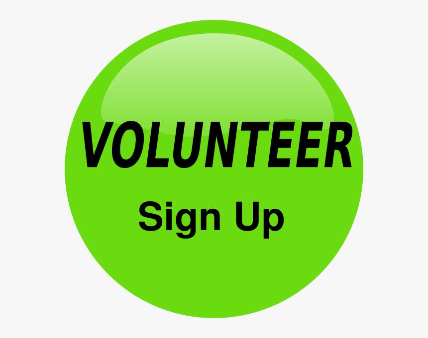 Volunteer Sign Up Button Svg Clip Arts - Sign Up Clip Art, HD Png Download, Free Download