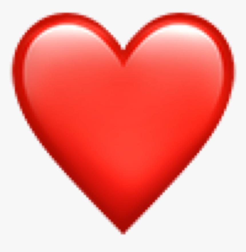 Red Heart Emoji Png, Transparent Png, Free Download