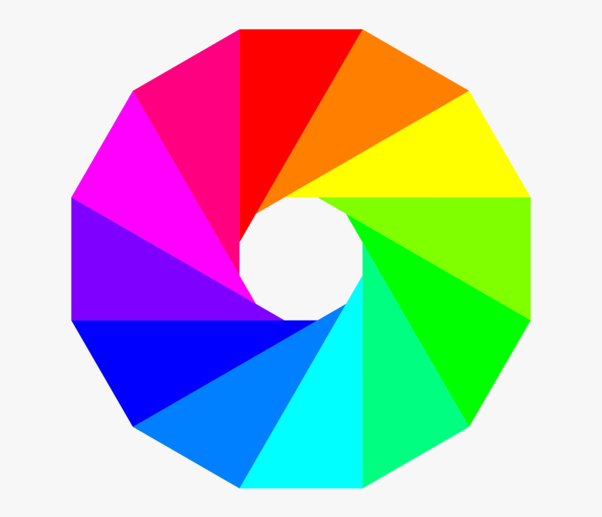 Colors Clipart Color Wheel, HD Png Download, Free Download