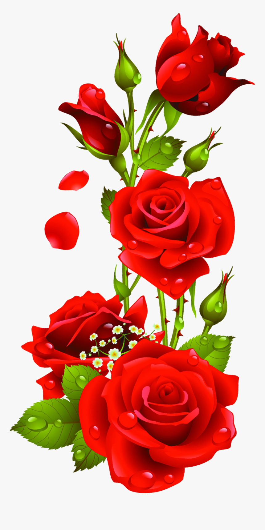 Transparent Beauty And The Beast Rose Clipart, HD Png Download, Free Download