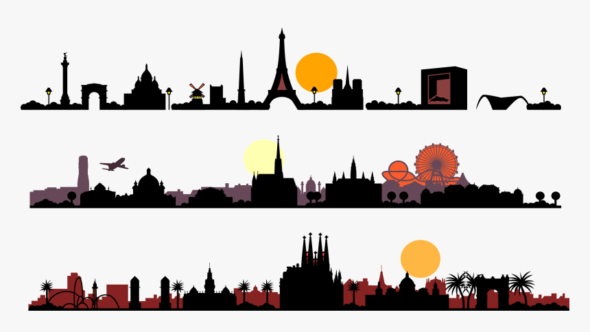 City Silhouette Png Download, Transparent Png, Free Download