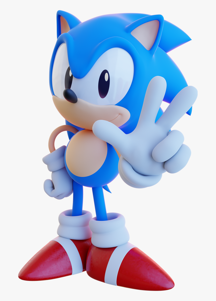Classic Sonic Png Transparent Png Kindpng