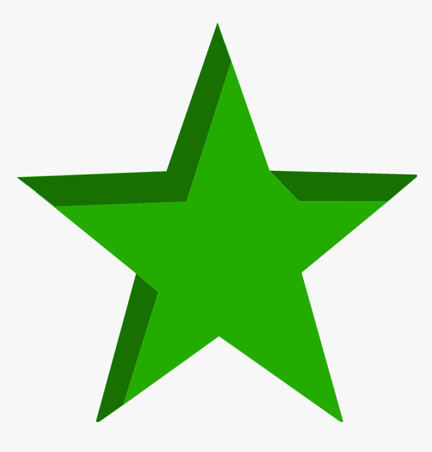 Green Star Unboxed-2000px, HD Png Download, Free Download
