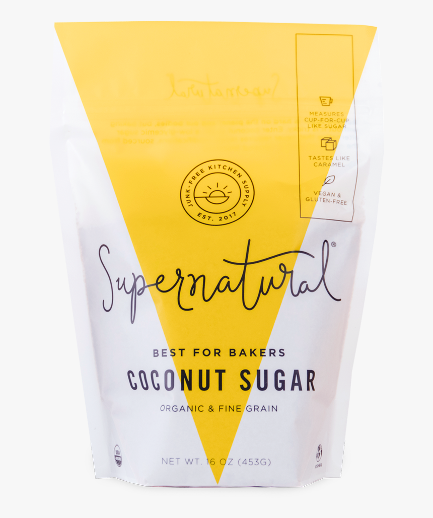 Supernatural Coconut-sugar, HD Png Download, Free Download