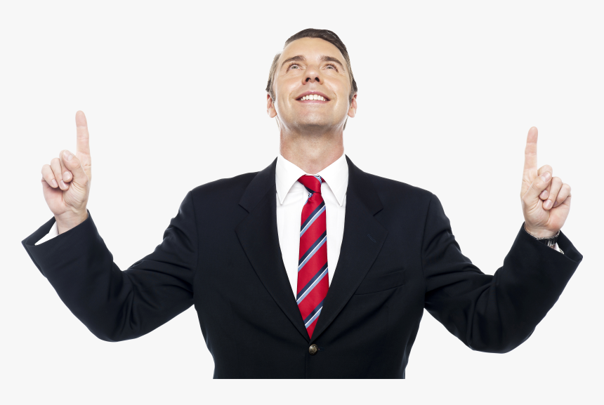 Photography,okay,v Sign,business - Man Pointing Up Png, Transparent Png, Free Download