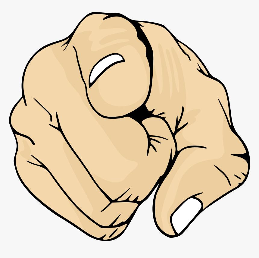 Emotion,art,carnivoran - Finger Pointing At You Png, Transparent Png, Free Download