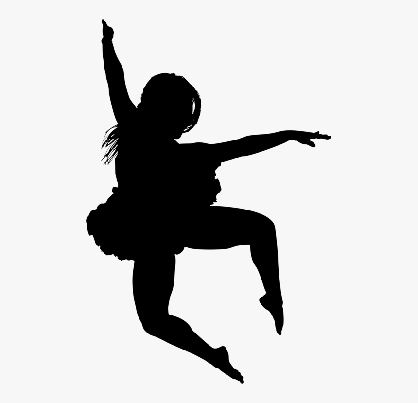 Ballet Dancer,dance,modern Dance - Silhouette, HD Png Download, Free Download