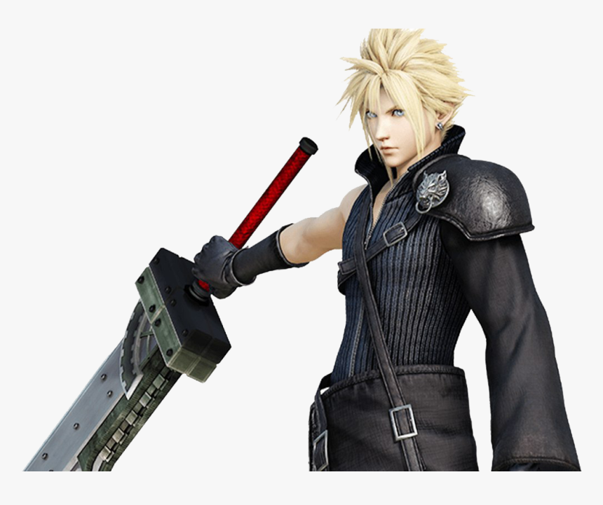 Final Fantasy Png Picture - Dissidia Final Fantasy Cloud, Transparent Png, Free Download