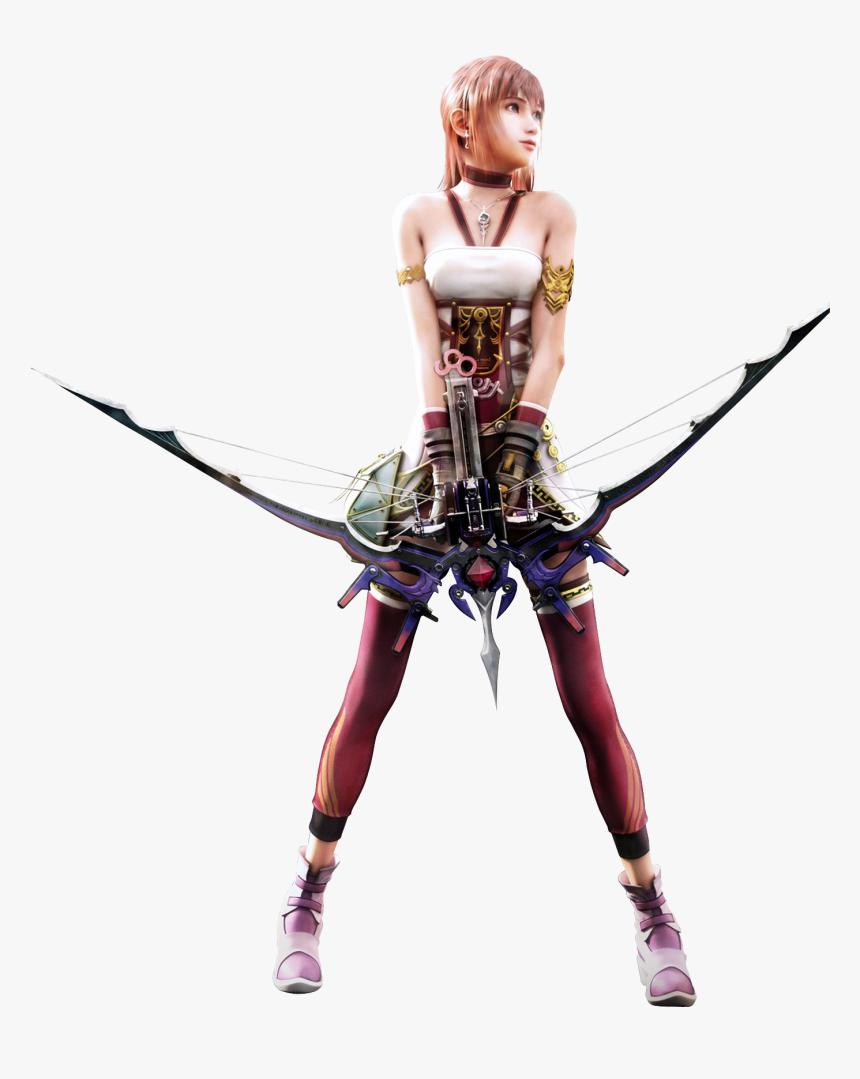 Final Fantasy Xiii-2 Final Fantasy Xv Lightning Returns - Final Fantasy Xiii 2 Serah, HD Png Download, Free Download