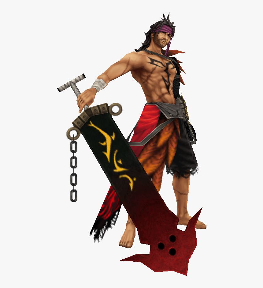 Fantasy Png - Jecht Dissidia 012 Costumes, Transparent Png, Free Download