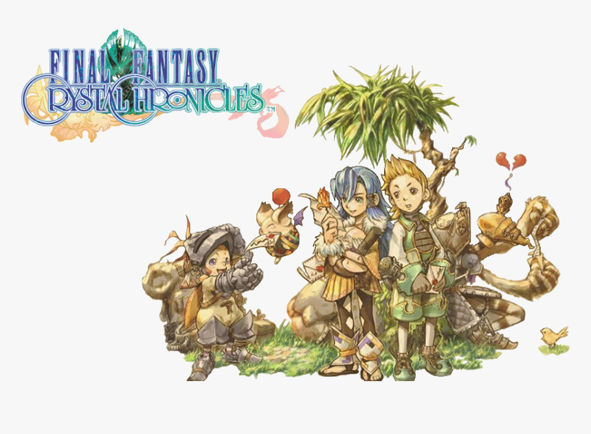 Final Fantasy Ps Vita Clipart Fantasy - Final Fantasy Crystal Chronicles Remastered Edition, HD Png Download, Free Download
