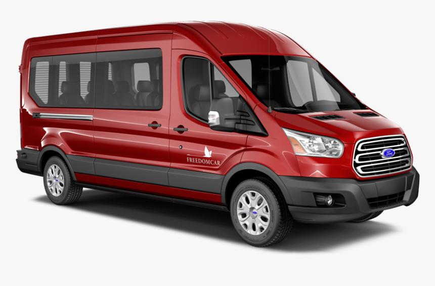 Freedomcar Ford Transit Front View - Freedom Car, HD Png Download, Free Download