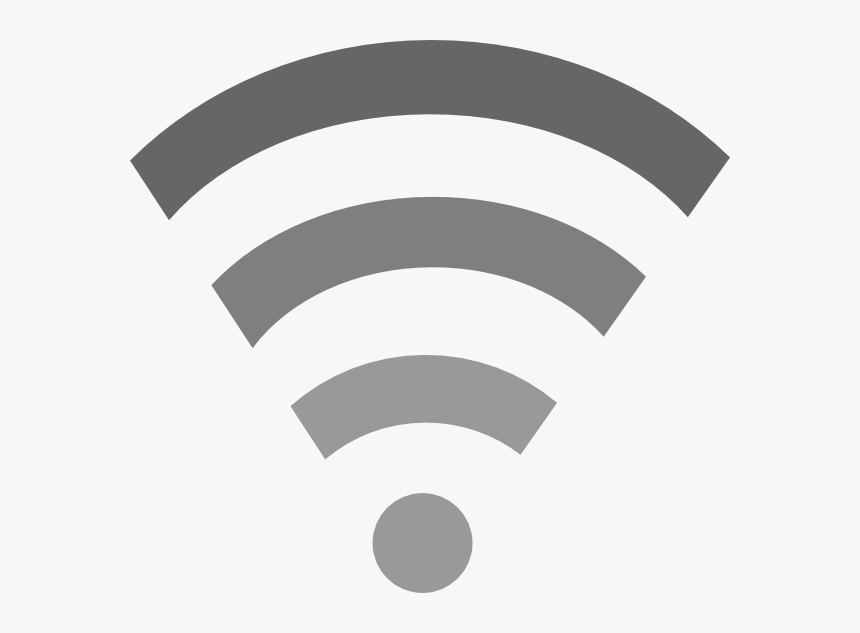 Wifi Grey Svg Clip Arts - Green Wifi Symbol Png, Transparent Png, Free Download