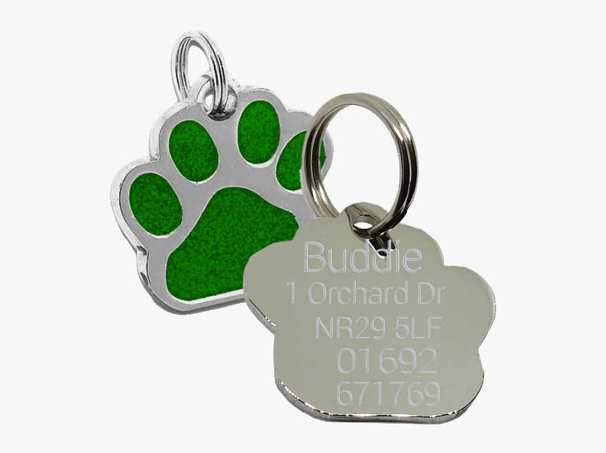 Paw Dog Tag, HD Png Download, Free Download