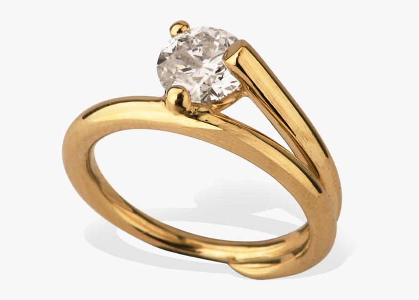 Completedworks Subverted Flower Bridal Ring 0 1 - Engagement Ring, HD Png Download, Free Download