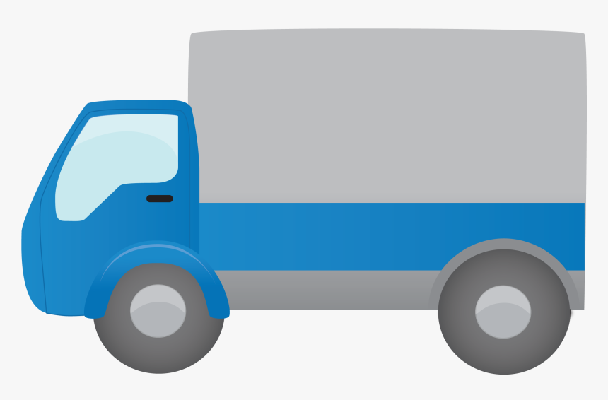 Blue Pickup Truck Icon - Cartoon Transparent Background Truck Png, Png Download, Free Download