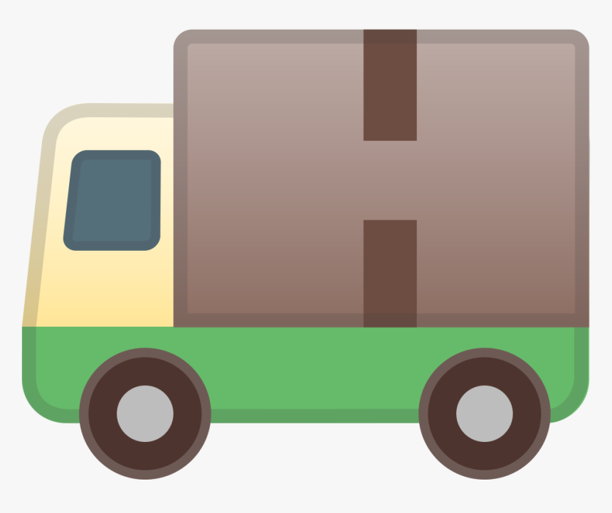 Delivery Truck Icon - Delivery Box Emoji Png, Transparent Png, Free Download