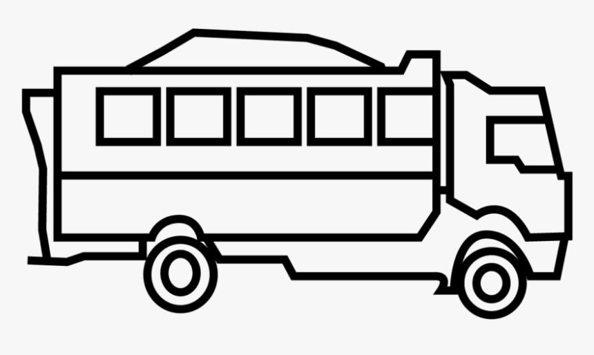 Minibus, HD Png Download, Free Download