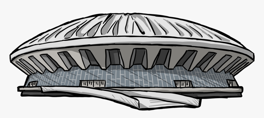 Drawing Of The State Farm Center - State Farm Center Illustration, HD Png Download, Free Download