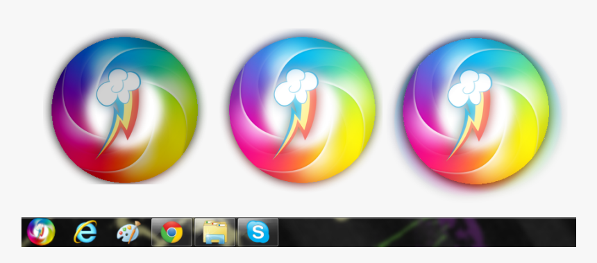 Posted Image - Rainbow Dash Start Button, HD Png Download, Free Download