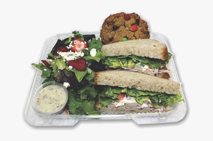 Deli Sandwich And Salad, HD Png Download, Free Download