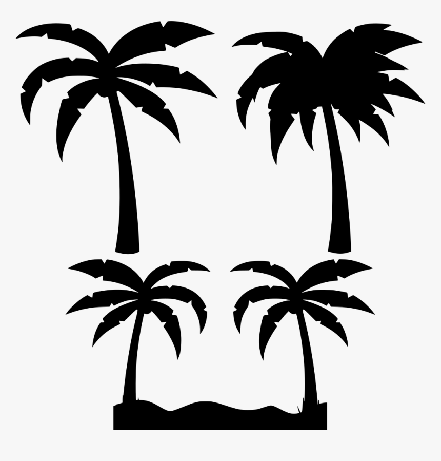 Vector Palm Trees Png, Transparent Png, Free Download