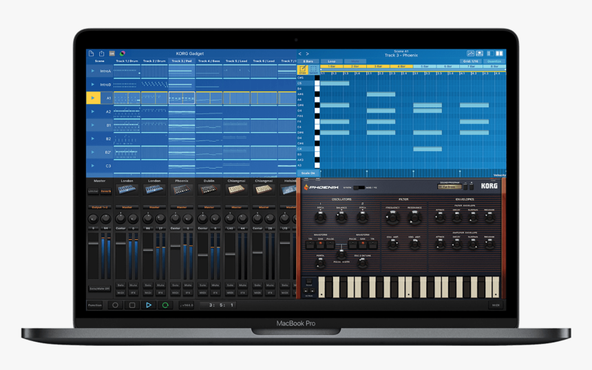 Gadget For Mac - Korg Gadget For Mac, HD Png Download, Free Download