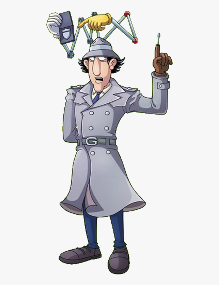 Inspector Gadget On The Job - Inspector Gadget, HD Png Download, Free Download