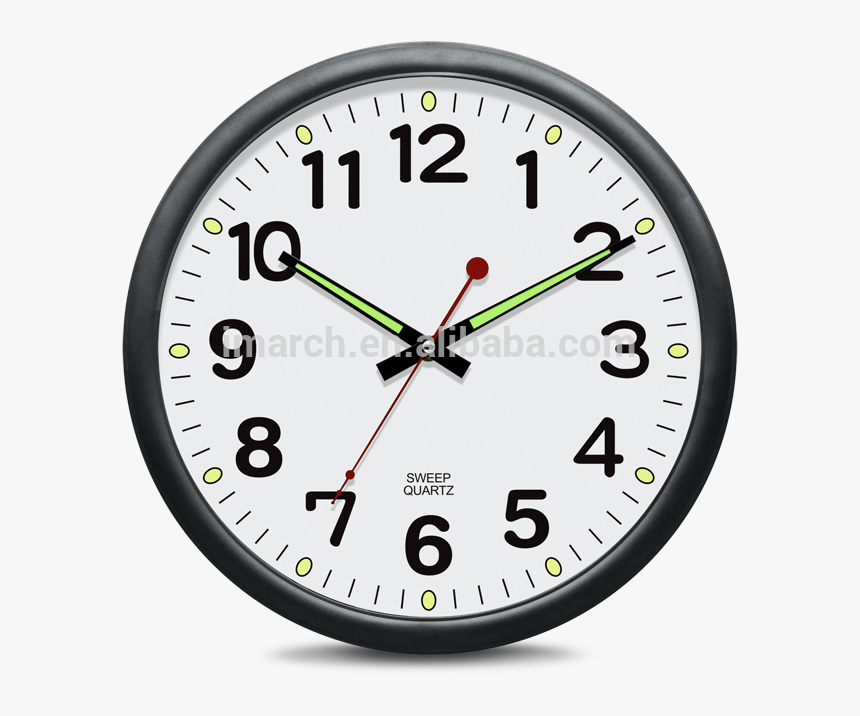 Transparent Decorative Shapes Png - Round Fancy Wall Clock, Png Download, Free Download