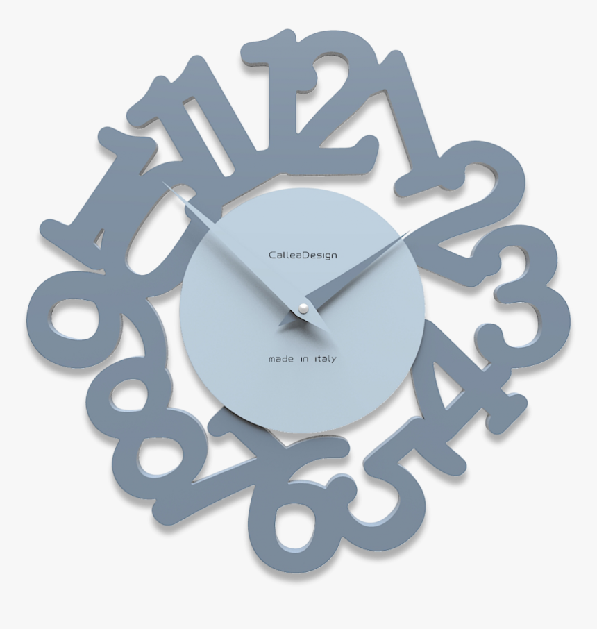 Callea Design Modern Wall Clock Mat